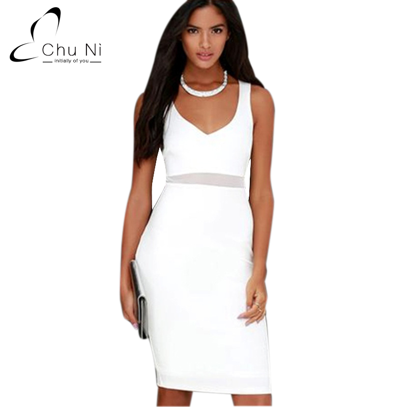a6430cf711 Chu Ni Hot Sale 6 Different Design White Party Dress Sexy Women Off  Shoulder Bodycon Dresses Evening Pencil ...